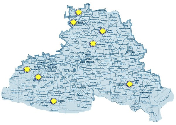 ландшафтная карта украины.